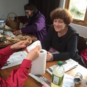 Mary making