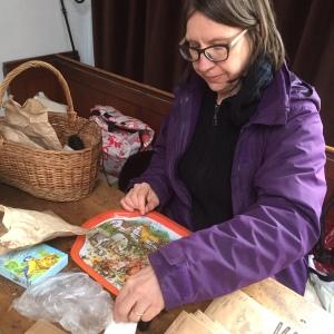 Nanette seed sorting